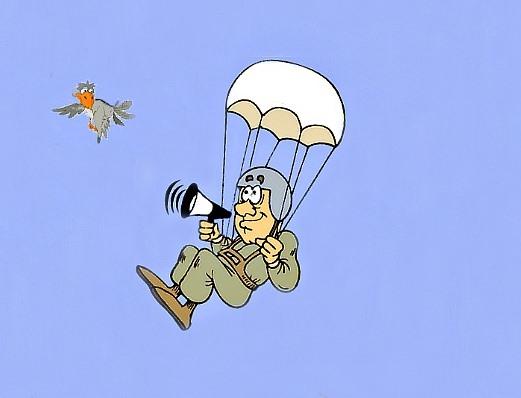 стих с днем рождения парашютисту