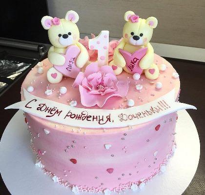 торт на 3 года девочке картинки