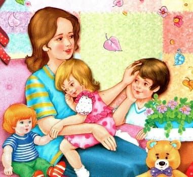 стих про маму до слез от дочери 5 лет