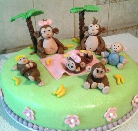 для детского торта для девочки