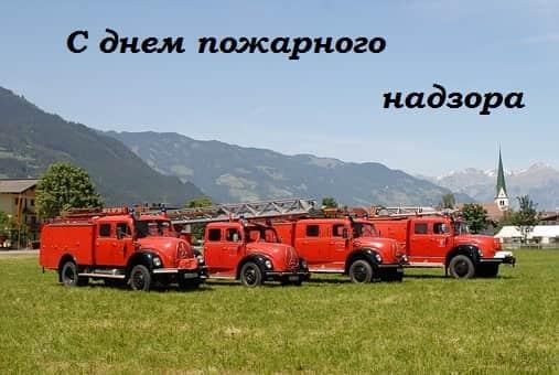 пожарного надзора 2018