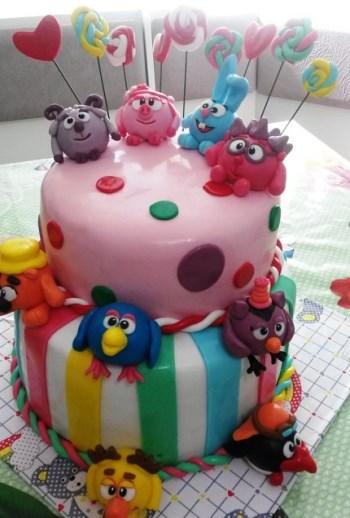 картинки как украсить торт для девочки