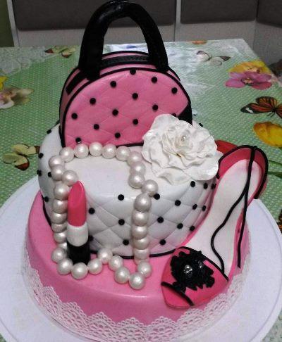 торт девочке на 20 лет картинки