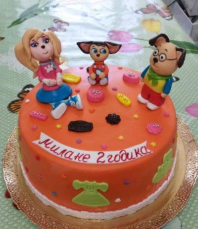торт девочке на 2 года картинки