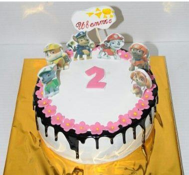 девочка на торте
