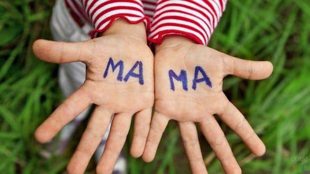 день матери детские стихи