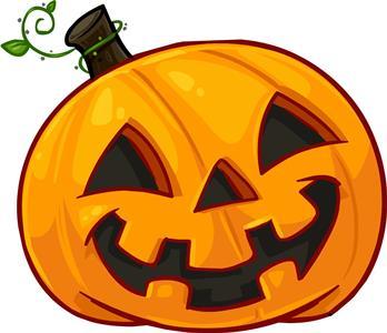 картинки тыквы на хэллоуин на белом фоне
