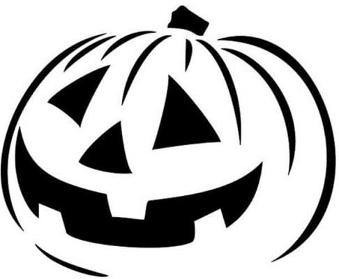 картинки тыквы на хэллоуин раскраска