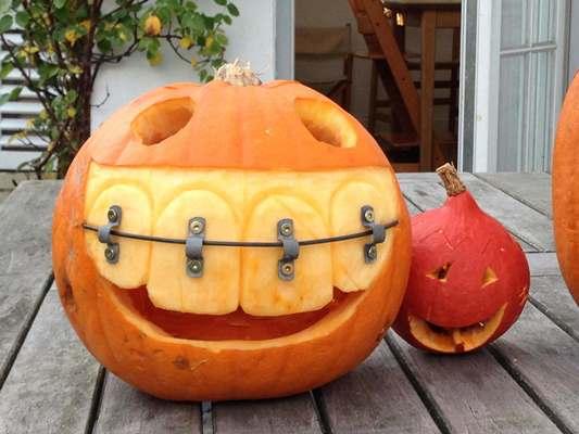 мордочки тыквы на хэллоуин картинки