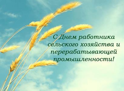 день работника сельского хозяйства поздравления в прозе руководителям