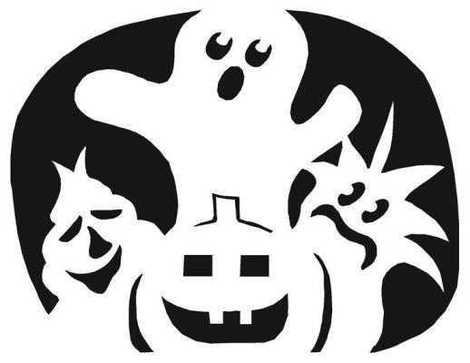 украсить тыкву на хэллоуин картинки