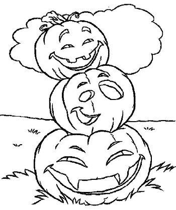 картинки на хэллоуин для распечатки тыква