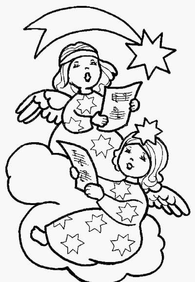 рождественские раскраски для детей 6-7 лет распечатать бесплатно