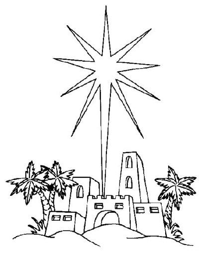 рождественская открытка раскраска для детей