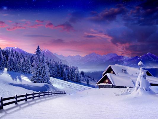 картинки на рабочий стол зимние новогодние на 2019 год