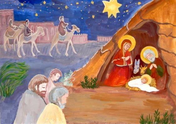 картинки про рождество христово для детей