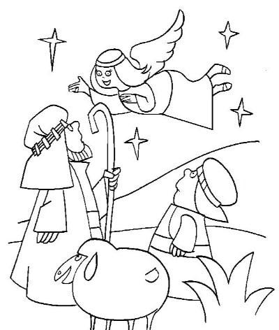 картинки на рождественскую тему раскраски