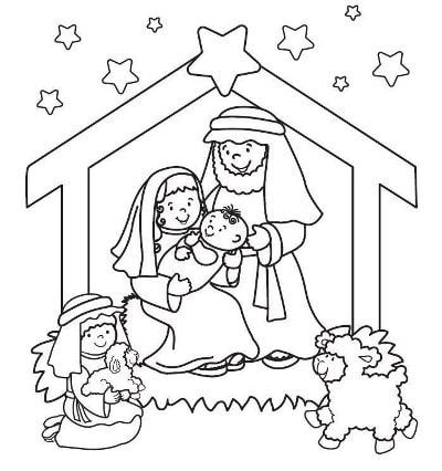 рождественские картинки раскраски распечатать