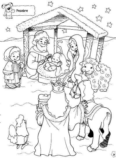 картинки раскраски к рождеству христову для детей