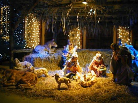 рождественские колядки для детей ноты