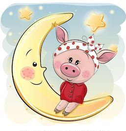 свинья символ года картинка прикольная