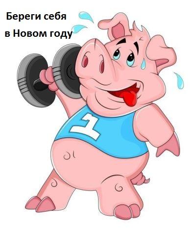 живые картинки прикольные год свиньи движущие