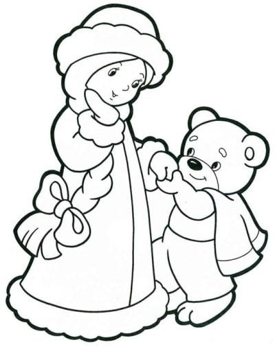 рисунки на новый год 2019 дед мороз