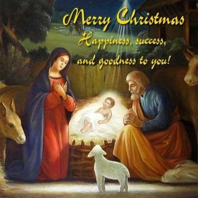 символы католического рождества картинки