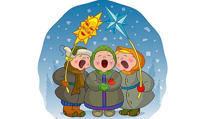 песня колядка на рождество для детей