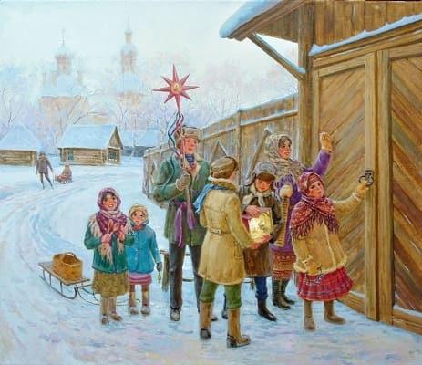 текст колядок на рождество для детей