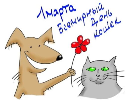 всемирный день кошек картинки когда
