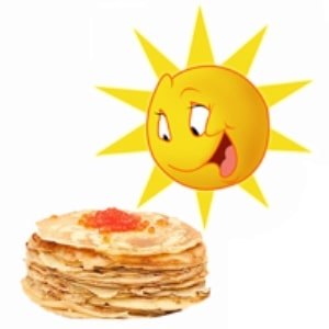 солнце и блины картинка