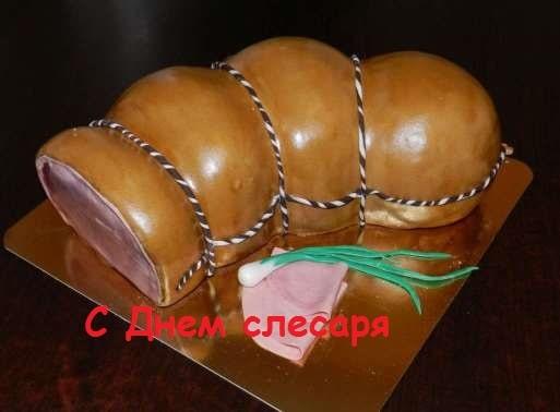 торт колбасой