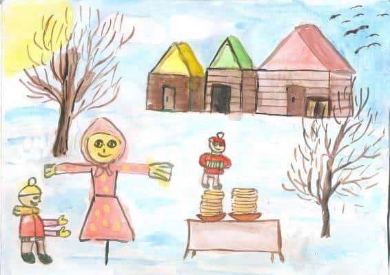картинки про масленицу для детского сада
