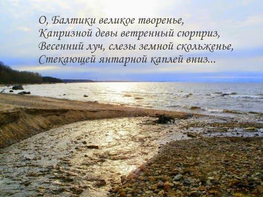 стихи про природу