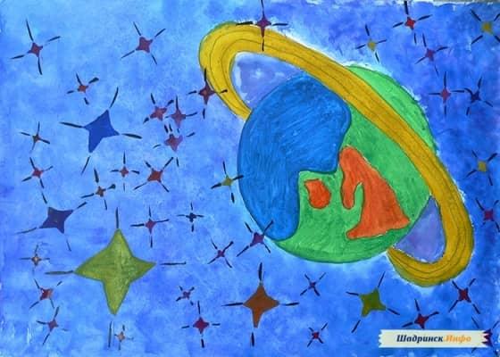 марс рисунок