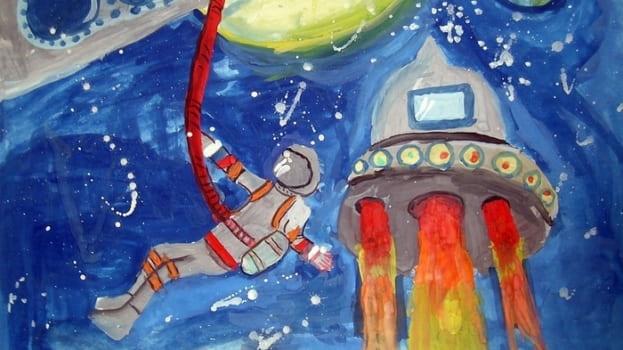 выход в космос фото