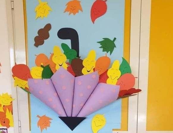 осенние поделки из бумаги своими руками для детского сада