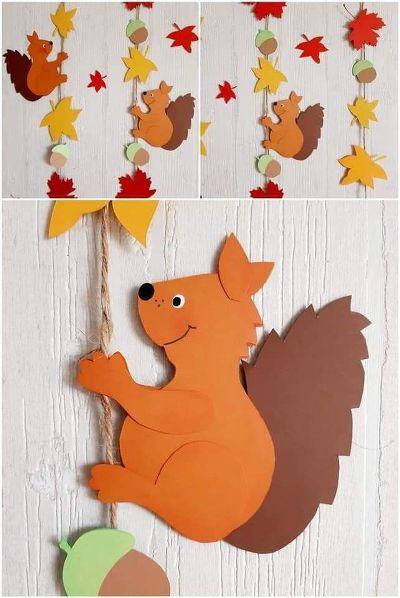 новые поделки осень для детского сада на выставку