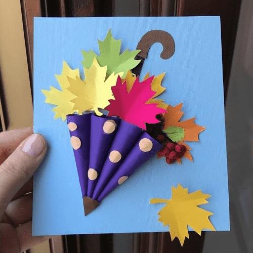 осенние поделки из бумаги 4 класс