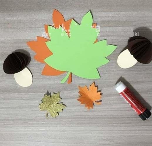 поделка с грибами на тему осень для школы 3 класс