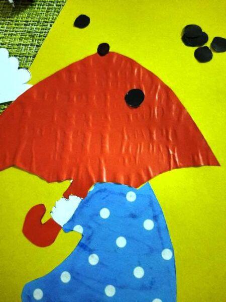 украшаем осенний зонт красиво и оригинально